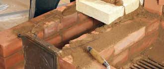 Глиняный раствор для печной кладки — состав, приготовление, особенности работы