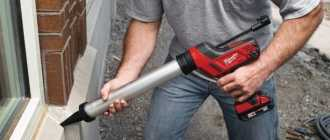 Аккумуляторный пистолет для герметика: особенности работы, порядок выбора