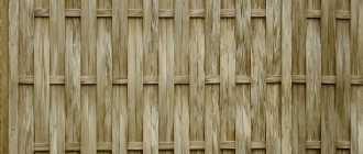 Как сделать плетеный забор: выбор материалов и технология изготовления