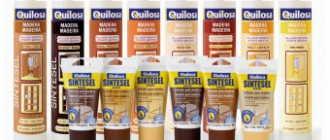 Герметик Quilosa для дерева: виды, свойства, порядок нанесения на поверхности