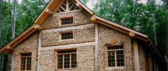 Ограда из дров и цемента: три методики создания красивой постройки