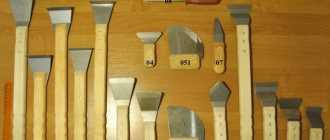 Шпатель для натяжных потолков: виды, формы и особенности применения
