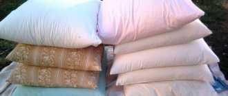 Что можно сделать из старой подушки