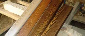 Травление древисины в домашних условиях: способы и техника выполнения