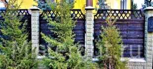 «Австрийская плетенка» на вашем участке: как сделать забор своими руками