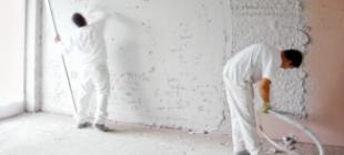 Механизированная шпаклевка стен – оборудование, состав и техника нанесения