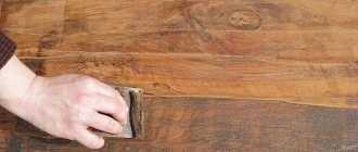 Как снять лак с дерева – обзор популярных методов