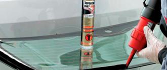 Клей для лобового стекла: виды, порядок применения и популярные марки