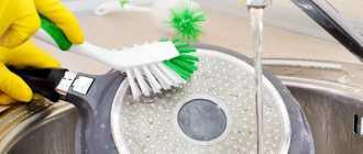 Эффективные способы отмыть сковороду