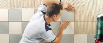 Калькулятор расхода плиточного клея при монтаже кафельной плитки